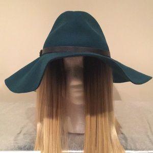 BCBG Teal Hat